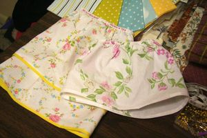 Baby Sheets to Baby Skirts