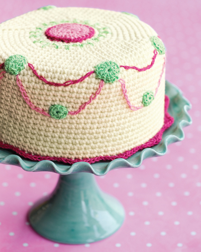 Crochet Cake Pattern | FaveCrafts.com