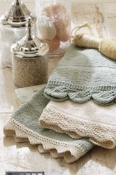 Lace Hand Towel