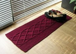 One Skein Shoe Rug
