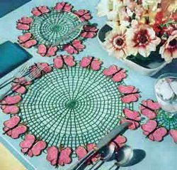 Butterfly Luncheon Set II