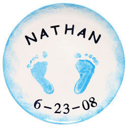 Tiny Toes Memory Plate