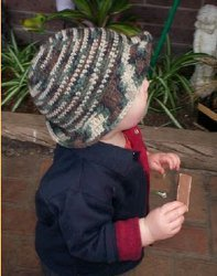 Boy's Floppy Brimmed Army Hat