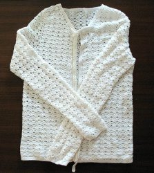 Lace Fabric Sweater