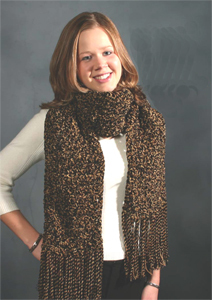 Textured Tigereye Scarf