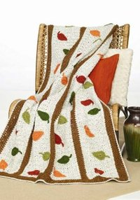32 Crochet Blanket Patterns Inspired by Autumn Leaves