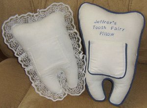 Free Pattern and Directions to Sew a Tooth Fairy Pillow