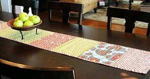 Skinny Simple Table Runner