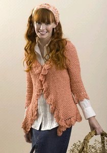 Crochet Short Jacket | AllFreeCrochet.com