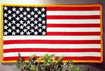 Stars & Stripes Crochet Afghan