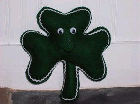 Stuffed Shamrock