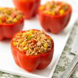 Slow Cooked Stuffed Peppers