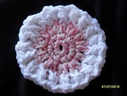 Crocheted Face Scrubbie