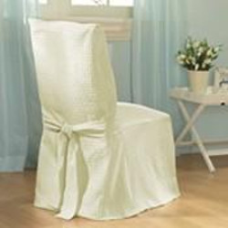Making Dining Chair Slipcovers