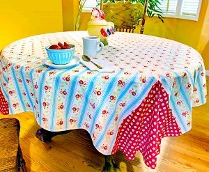 Reversible Breakfast Tablecloth