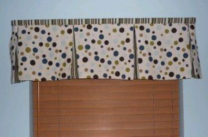 Pleated Window Valance