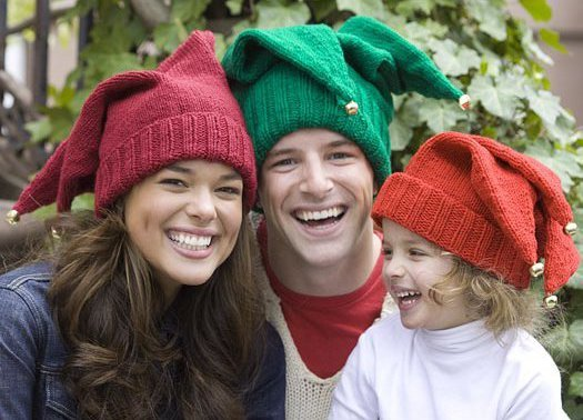 Jingle Bell Hats for the Family FaveCrafts.com