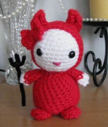 Devil Wears Red Amigurumi Pattern