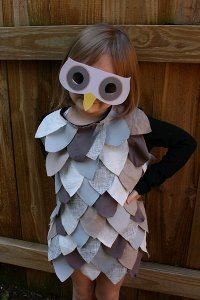 Last Minute Kids' Owl Costume