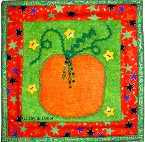 Pumpkin Mini Quilt