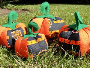 Football Pumpkin Fun