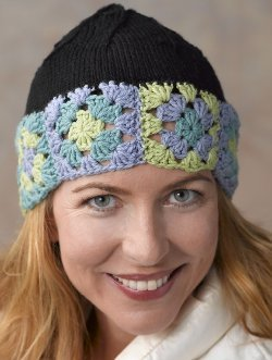 Knit and Crochet Nature Hat
