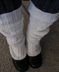 From Sweaters Come Great Leg Warmers