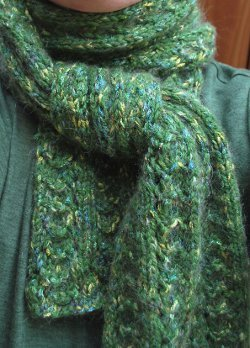 Peacock Scarf Pattern
