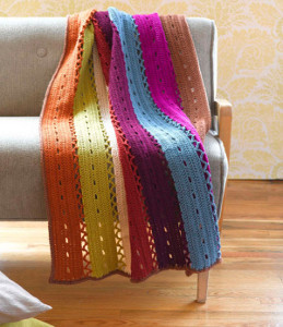 Colorful Windchime Afghan