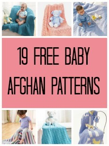 19 Free Baby Afghan Patterns For Knitters
