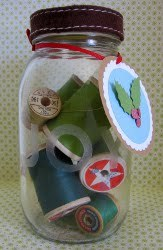 Holiday Gift Jars with Tags