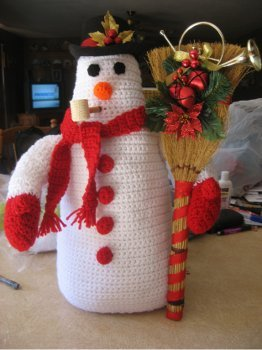 Cute Crochet Frosty