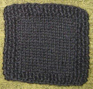 Free Knitting Patterns For Coasters : Simple Seed Stitch Coaster AllFreeKnitting.com