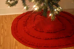 Ruffle Tree Skirt