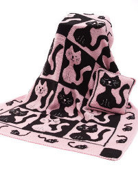 Cat & Mouse Throw & Pillow