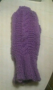 Pretty Cable Mittens
