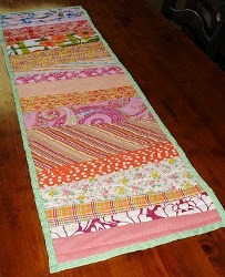 Wonky Fall Table Runner Tutorial