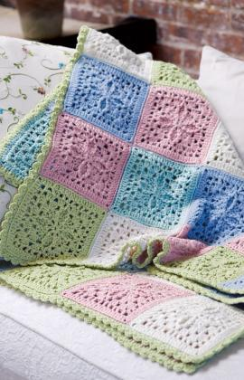 Crochet Refreshing Throw