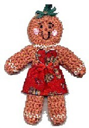 Crochet Gingerbread Man