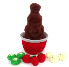 Amigurumi Chocolate Fountain