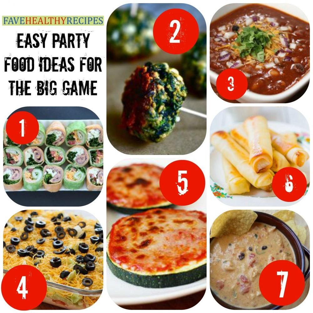 32 Easy Party Food Ideas For The Big Game