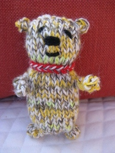 Easy Knit Teddy Bear