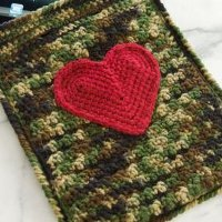 Heart iPad Case