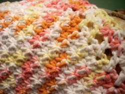 Little Starburst Dishcloth