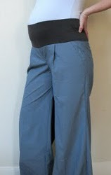 Converted Maternity Pants Tutorial