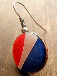 Pepsi Can Earrings
