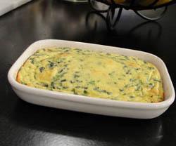 30 Minute Spinach Egg Casserole