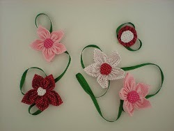 Multiple Use Fabric Flowers