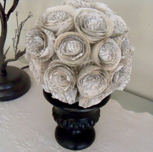 christmas paper crafts paper roses