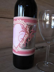 Personalized Wine Bottle Wrap